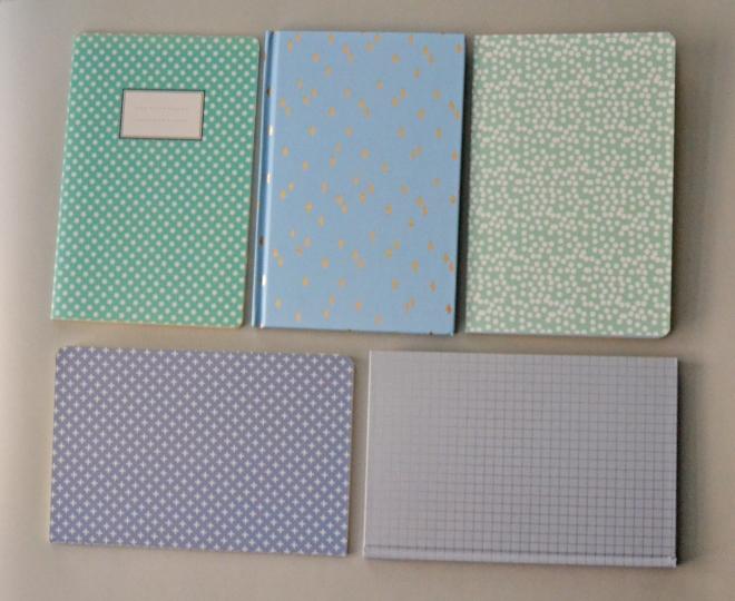 Notesbøger fra Søstrene Grene 1